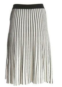 NWD. Black & White striped knit skirt